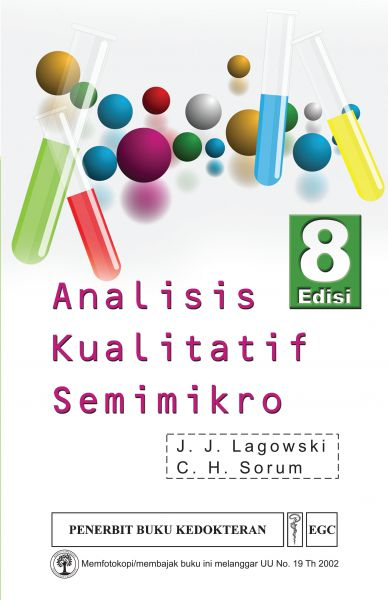Analisis Kualitatif Semimikro Ed.8